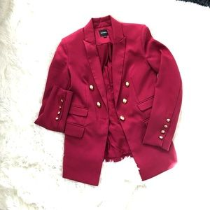 XoXo Hot pink blazer